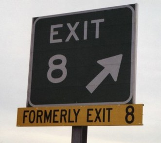 The new-old exit